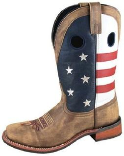 NEW! Smoky Mountain Boots - Men's Western Cowboy - Leather -