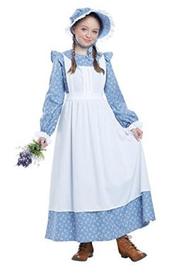 California Costumes Pioneer Girl Child Costume, Medium