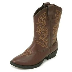 Deer Stags Kids' Ranch Cowboy Boot Pre/Grade School Boots  -