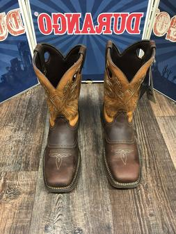 Rebel by Durango Square Toe Saddle Western Boot