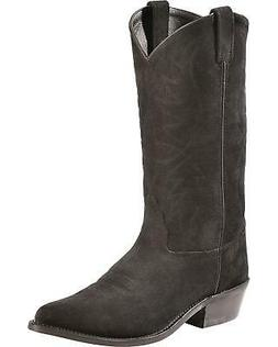 Old West Roughout Suede Cowboy Boot - Pointed Toe - SCM7020C