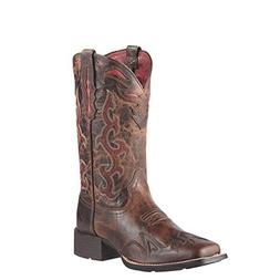 Ariat Women's Sidekick Western Cowboy Boot, Sassy Brown, 7.5