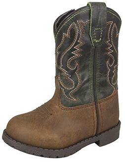 Smoky Mountain Toddlers Brown/Green Hopalong Western Cowboy