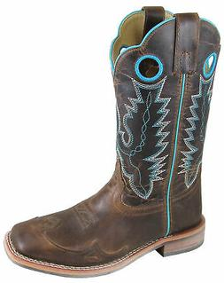 Smoky Mountain Womens Marianna Brown Leather Cowboy Boots