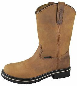 Smoky Mountain Youth Boys Scottsdale Brown Leather Cowboy Bo