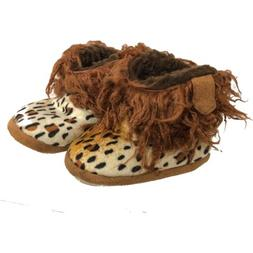 Cowboy Kickers Toddler Baby Casual Cheetah Slippers Boots Wo