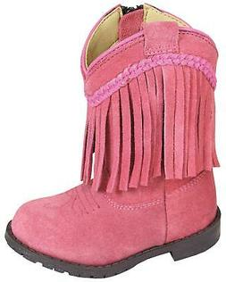 Smoky Mountain Toddler Girls' Hopalong Fringe Western Boot -