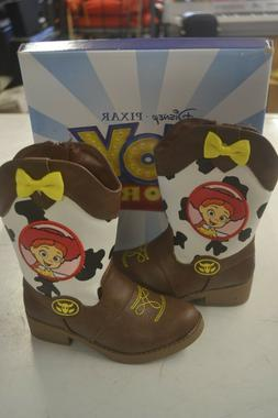 Jessie Toy Story Disney Brown Cowboy Western Boots Toddler S