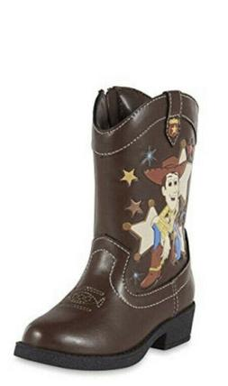 Disney Toy Story Woody Cowboy Western Boots Toddler Boy Size