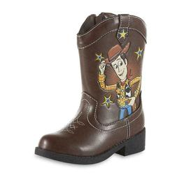 Disney Toy Story 4 Toddler Boys Woody Western Cowboy Boots S
