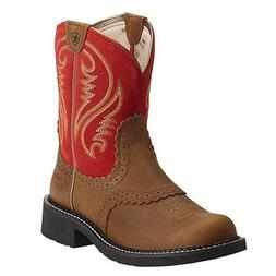 Ariat Western Boots Womens Fatbaby Heritage Copper 10014079