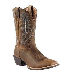 Ariat Western Boots Mens Sport Outfitter Cowboy Brown 100118
