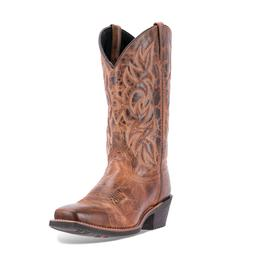 Laredo Western Boots Rust 12 Inch Breakout Leather Cowboy Sq