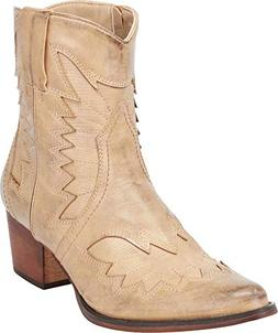 Cambridge Select Women's Western Cowboy Pointed Toe Chunky S