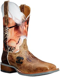 Cinch Men's Wildcat Western Boot,Tan,11.5 D US
