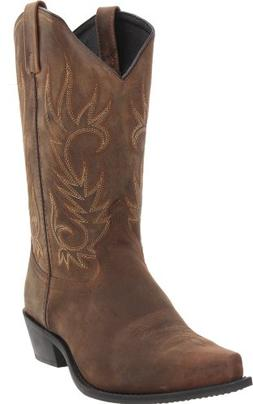 Laredo Men's Willow Creek Boot,Tan Crazyhorse,10.5 D  US