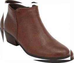 Cambridge Select Women's Western Cowboy Chunky Stacked Block