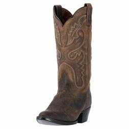 Women's Cowboy Boots US 7.5 M Distressed Leather Dan Post Ma