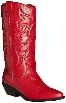 Cambridge Select Women's Cowboy Western Pointed Toe Knee Hig