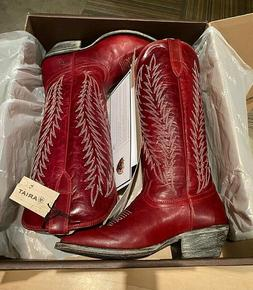 """Ariat Women's Legacy Two Step 14"""" Leather R Toe Cowboy Boots"""