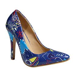 Cenglings Women's Pointed Toe Shallow Shoes Wild Ladies Stil