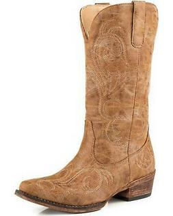 Roper Women's Riley Vintage Western Boot - Snip Toe - 09-021