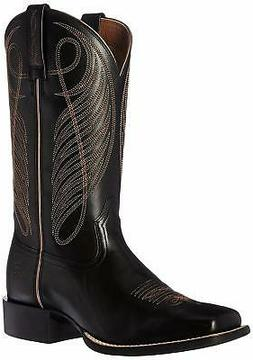 Ariat Women's Round Up Wide Square Toe Western Cowboy Boot -