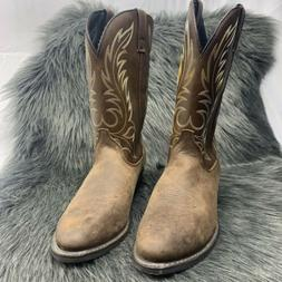 Laredo Women's Size 11 M, Kadi 5742 Brown Leather Cowboy Wes