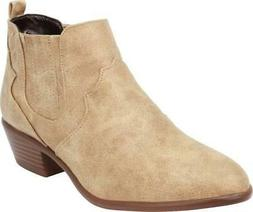 Cambridge Select Women's Stitched Western Cowboy Closed Almo