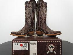 Women's Cinch Volcano Brass Cowboy Boot CFW586 NIB Size 7 B