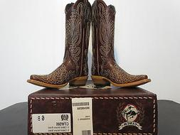 Women's Cinch Volcano Brass Cowboy Boot CFW586 NIB Size 6 B