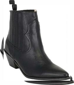 Cambridge Select Women's Western Cowboy Pointed Toe Stitched