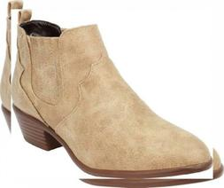Cambridge Select Women's Western Cowboy Stacked Chunky Low H