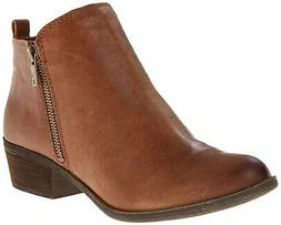 Lucky Brand Women's Basel Bootie,Toffee Leather,US 8 W
