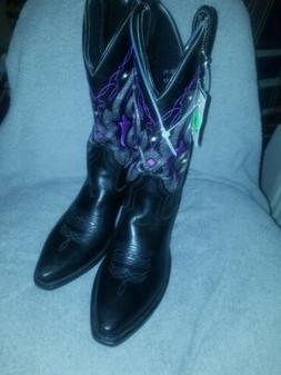 Gypsy Rose - Womens Cowboy Boots - Genuine Leather - Embroid