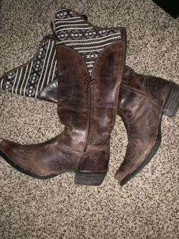 womens ariat cowboy boots size 7