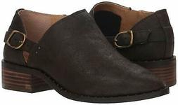 Lucky Brand Womens Gahiro Leather Pointed Toe Ankle Cowboy B