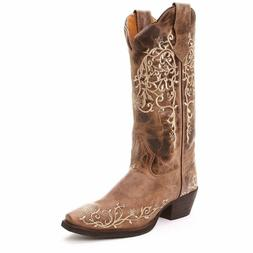 Womens Jasmine Leather Western Boots **Free Shipping**