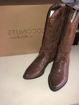 Coconuts by Matisse Gaucho Womens Size 7 M Brown Cowboy West