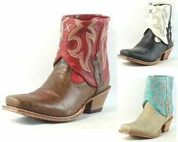 Twisted X Womens Steppin' Out Cuff Leather Cowboy, Western A