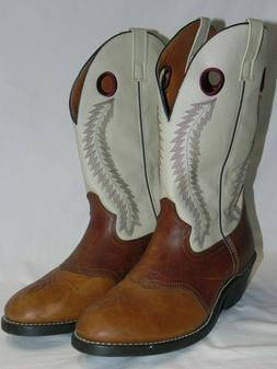 Worn Once Laredo 62023 Mens 13 D Tan Brown Leather Knoxville