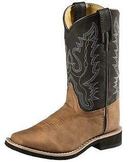 Swift Creek Youth Boys' and Cowboy Boot - Square Toe - 1725-